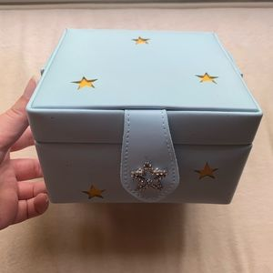 Light Blue Star Jewelry Box 🌟